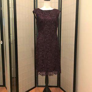 NWT-Lauren Ralph Lauren Floral-Lace Dress